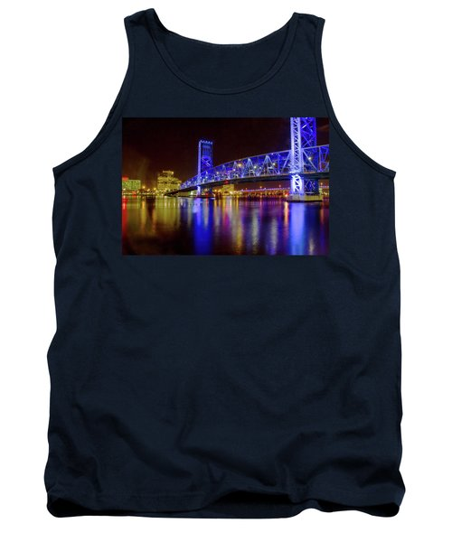 Blue Bridge 2 Tank Top by Arthur Dodd