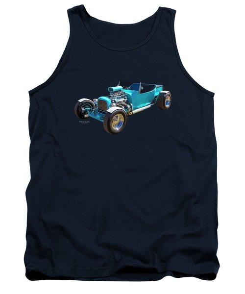 Blue Bucket Tank Top