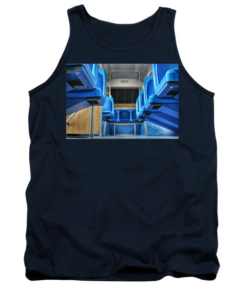 Blue Bus Seats Tank Top