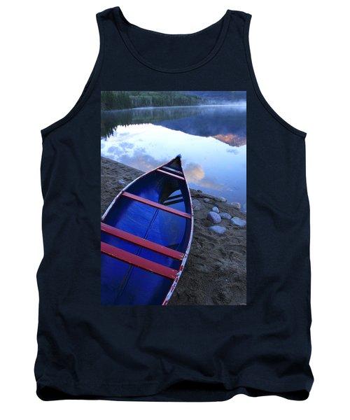 Blue Canoe Tank Top