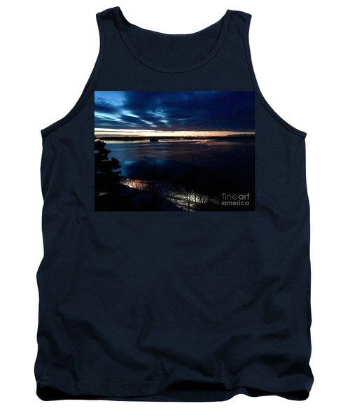Blue Dawn On Casco Bay Tank Top