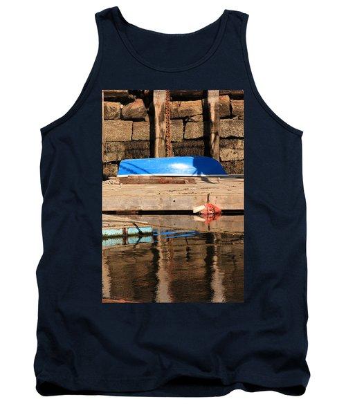 Blue Dingy Tank Top