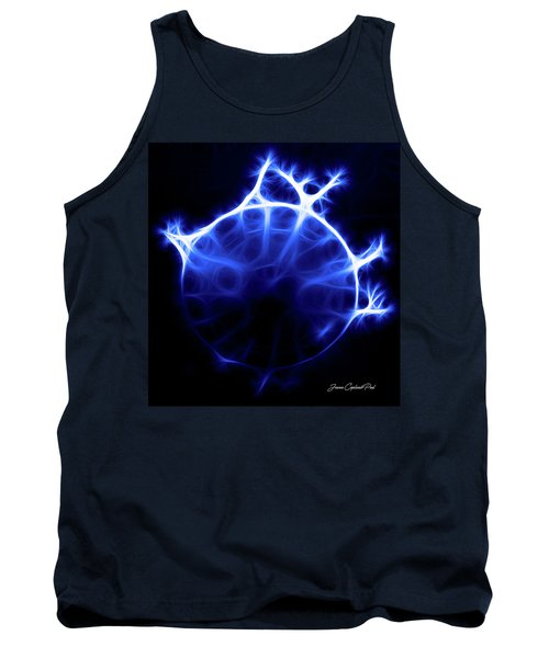 Blue Jelly Fish Tank Top