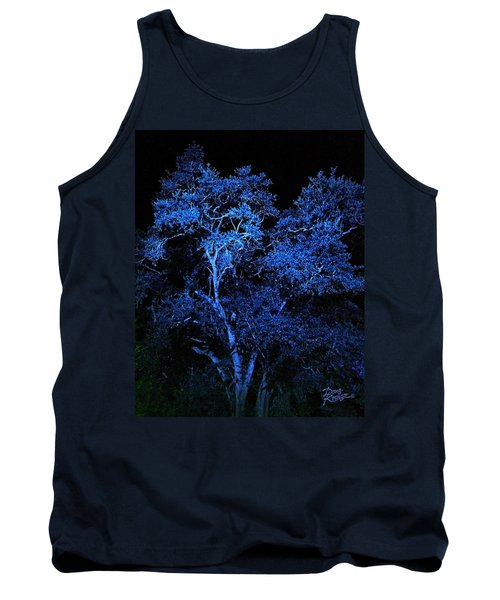 Blue Magic Tank Top