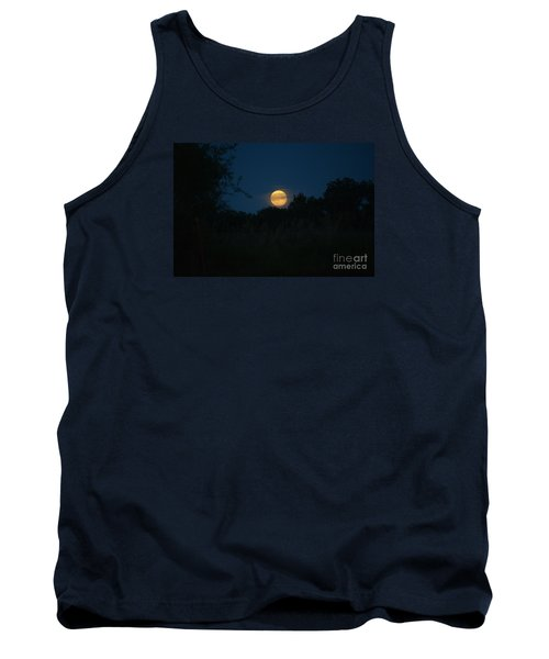 Tank Top featuring the photograph Blue Moon 2015 by Mark McReynolds
