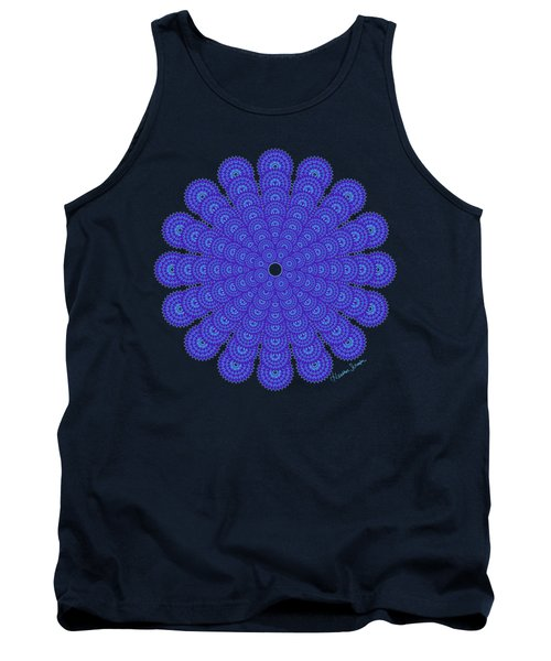 Blue Obsession Tank Top