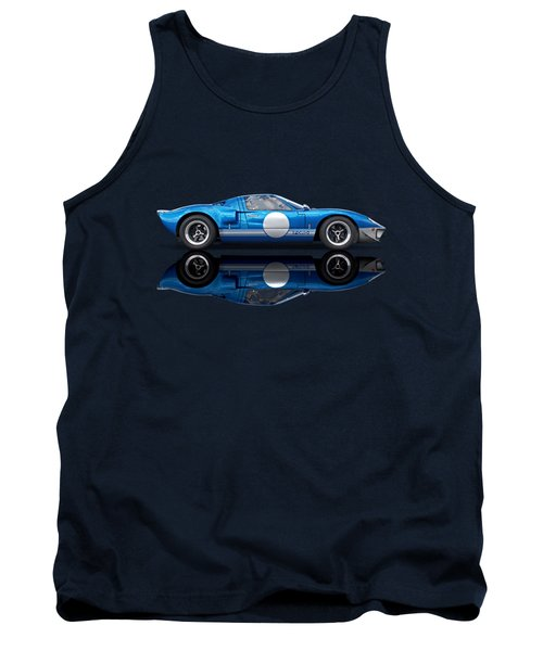 Blue Reflections - Ford Gt40 Tank Top