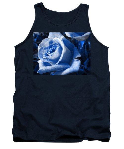 Blue Rose Tank Top