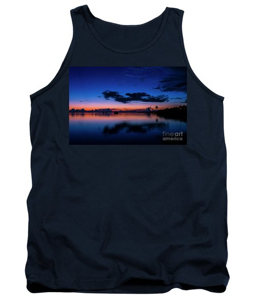 Blue Sky Night Tank Top
