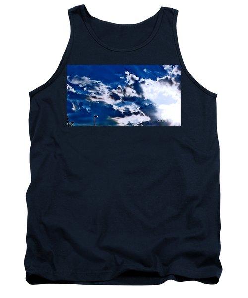 Blue Sky Tank Top