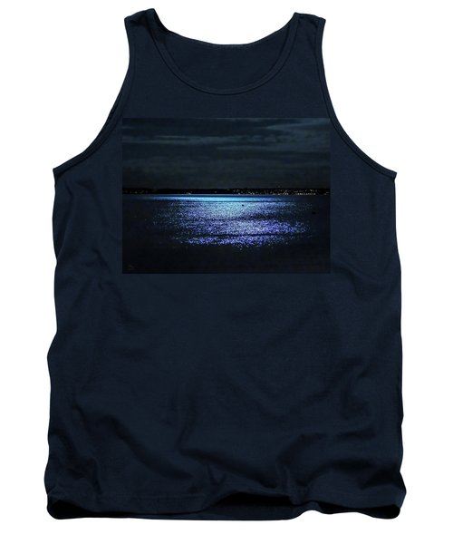 Tank Top featuring the photograph Blue Velvet by Glenn Feron