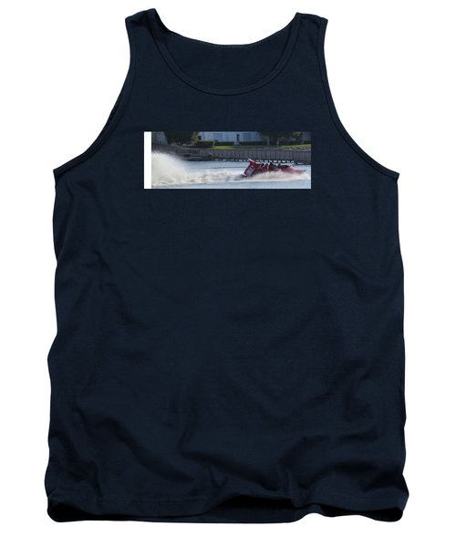 Boat On The Water Tank Top by Aaron Martens
