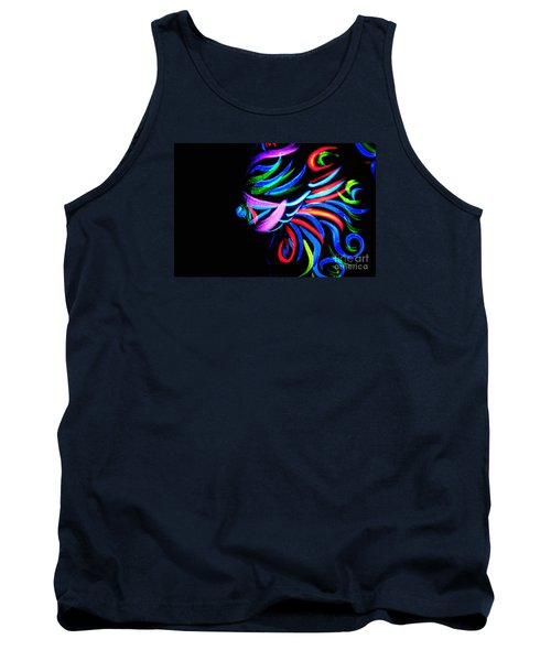 Body Art Breast Tank Top by Tbone Oliver