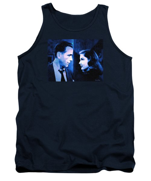 Bogart And Bacall - The Big Sleep Tank Top