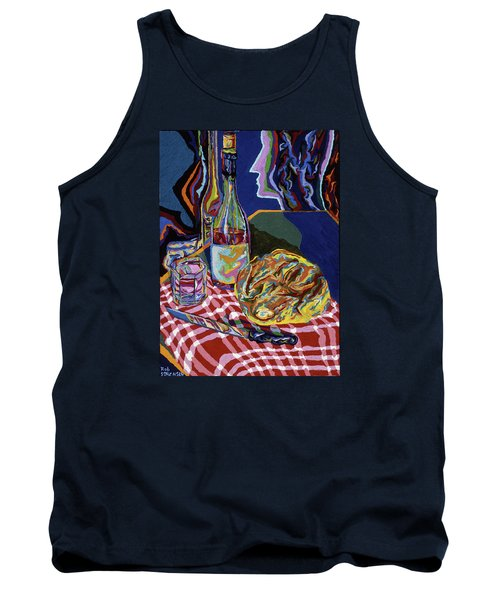 Bread And Wine Of Life Tank Top by Robert SORENSEN