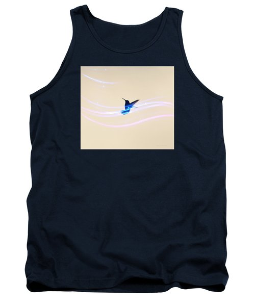 Tank Top featuring the photograph Breeze Wings by Debra     Vatalaro
