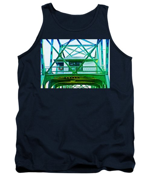 Tank Top featuring the photograph Bridge House by Adria Trail