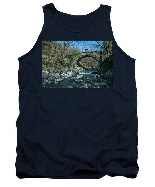 Bridge Over Peaceful Waters - Il Ponte Sul Ciae' Tank Top