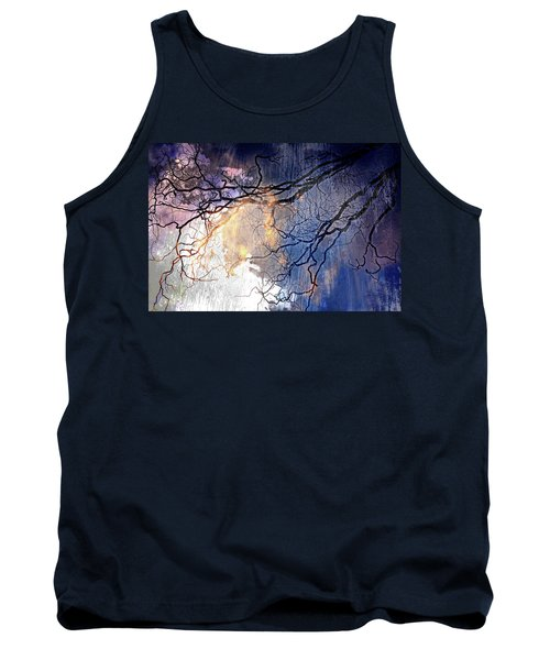 Brilliant Rain Tank Top by Gray  Artus
