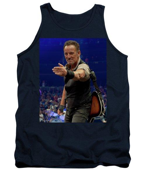Bruce Springsteen. Pittsburgh, Sept 11, 2016 Tank Top
