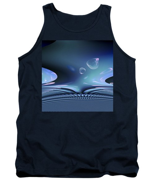 Bubble Abstract Tank Top
