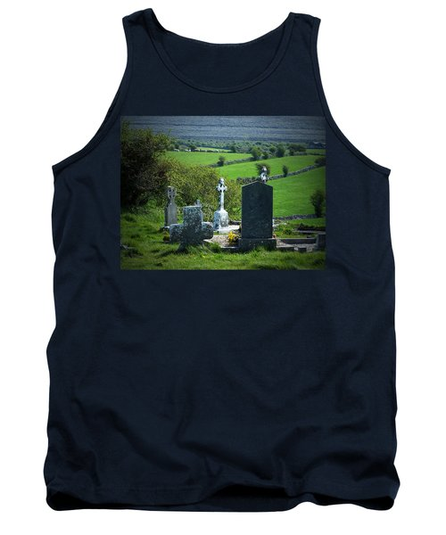 Burren Crosses County Clare Ireland Tank Top