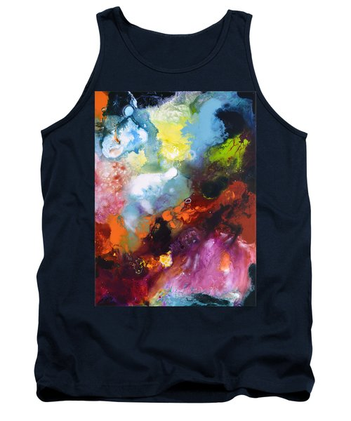 Burst Of Light Three Of Three Tank Top