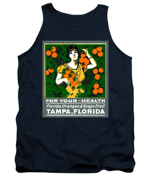 C.1920 Tampa For Your Health Tank Top