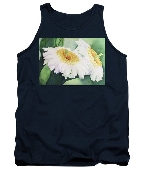 Cactus Flower Tank Top