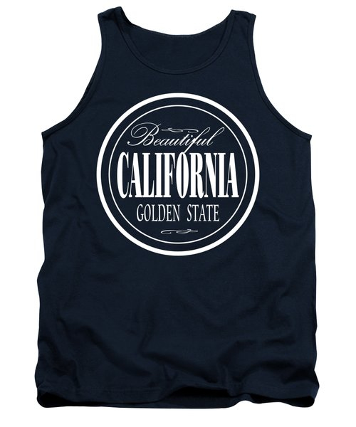 California Golden State Design Tank Top