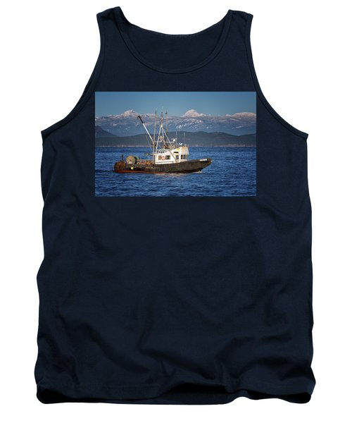 Tank Top featuring the photograph Caligus by Randy Hall