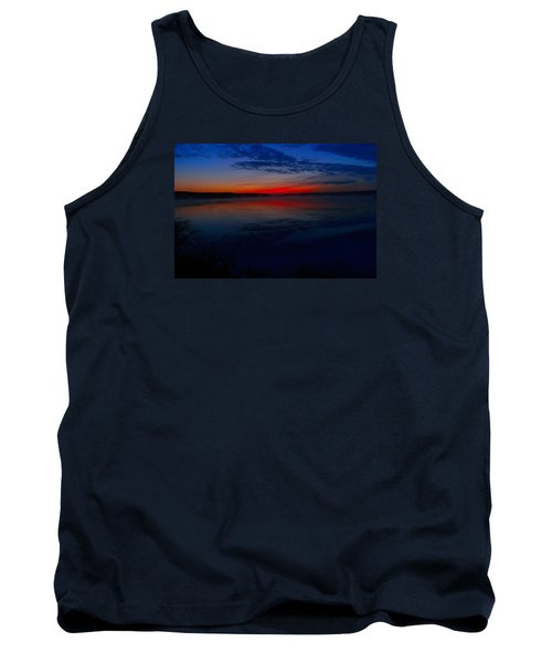 Calm Of Early Morn Tank Top by Jeff Swan