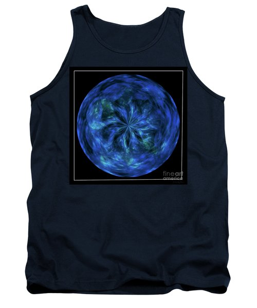 Calming Blue Orb Tank Top