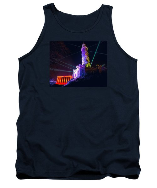 Calton Hill Lightshow Tank Top