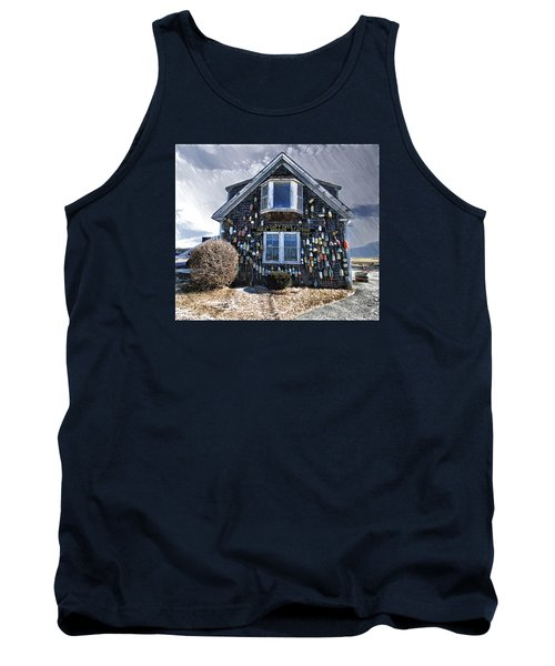 Cape Cod Christmas Bulbs Tank Top by Constantine Gregory