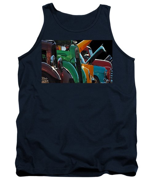 Car Show V Tank Top by Robert Meanor