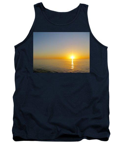 Caribbean Sunset Tank Top