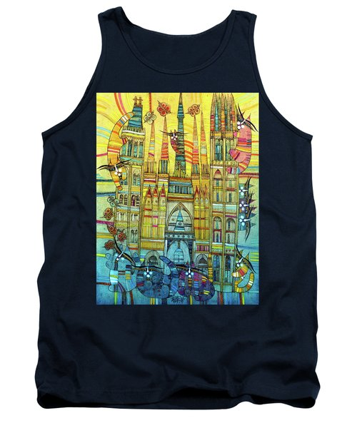 Cat-hedral Tank Top