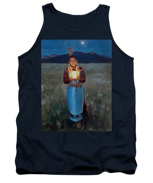 Catching The Moon Tank Top