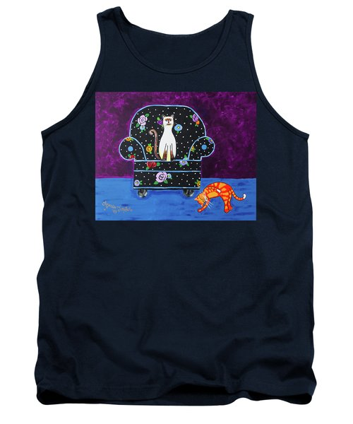 Cats Just Wanna Have Fun Tank Top
