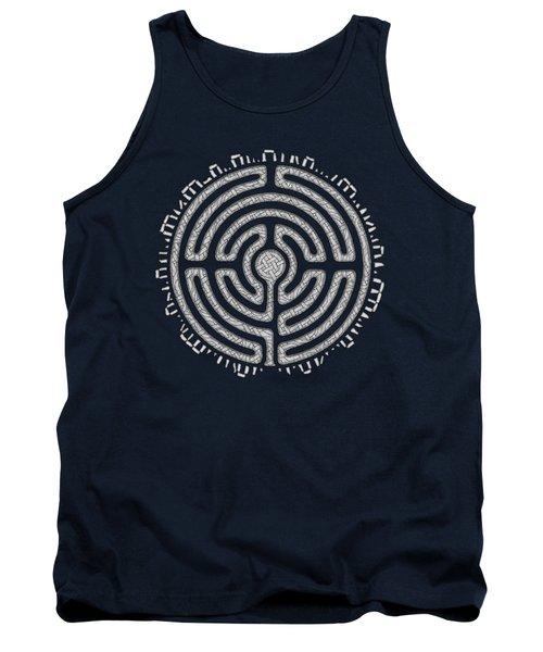 Celtic Labyrinth Mandala Tank Top