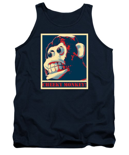 Tank Top featuring the photograph Cheeky Monkey by Richard Reeve