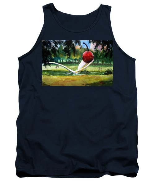 Cherry And Spoon Tank Top