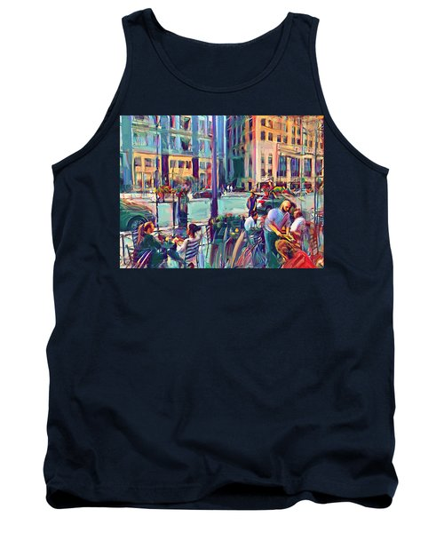 Chicago Cafe Tank Top