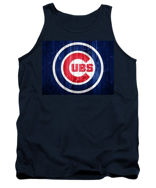 Chicago Cubs Barn Door Tank Top