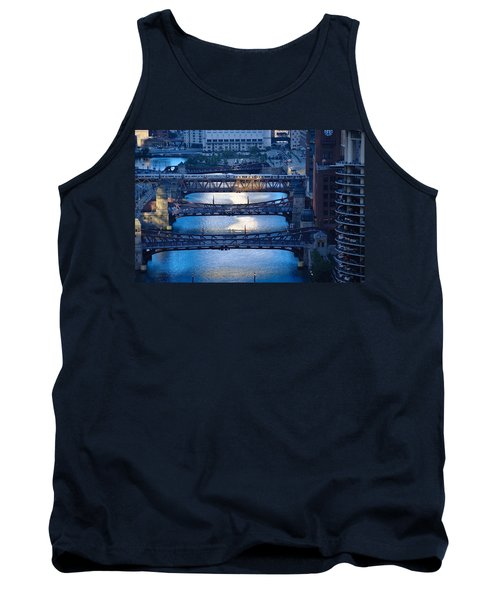 Chicago River First Light Tank Top