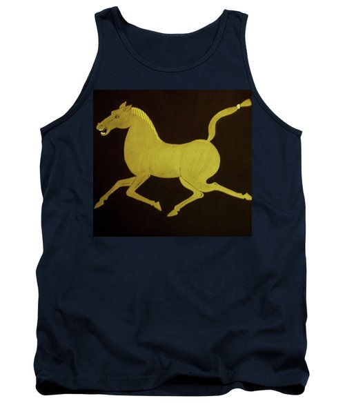 Tank Top featuring the painting Chinese Horse by Stephanie Moore