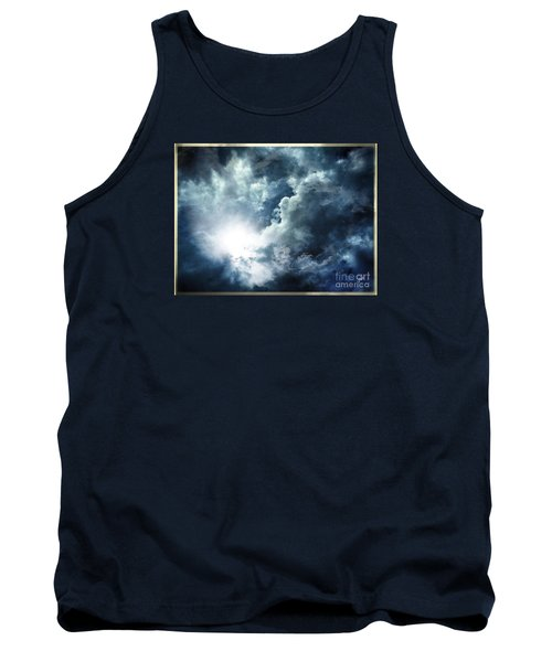 Tank Top featuring the photograph Chink Of Light - Spiraglio Di Luce by Zedi
