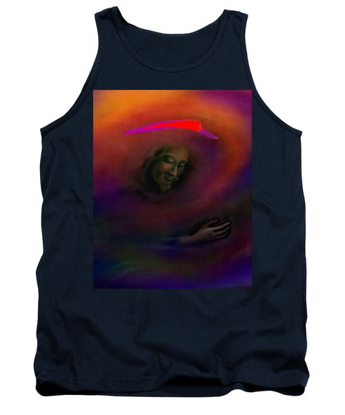 Tank Top featuring the painting Christ by Kevin Middleton