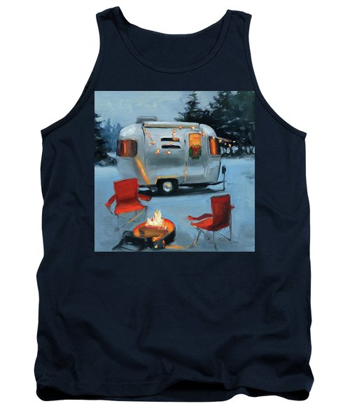 Christmas In The Snow Tank Top
